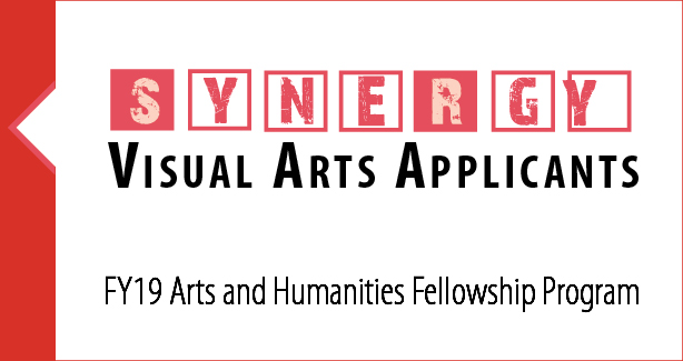 SYNERGY, Visual Arts Applicants, FY19 Arts and Humanities Fellowship Program
