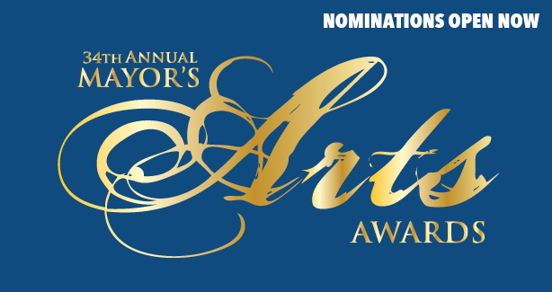 34th Annual Mayor's Art Awards Call for Nominations Image