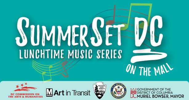 SummerSet DC - Lunchtime Music Series on the Mall Logo Image