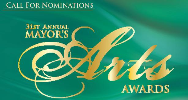 31st Mayor's Arts Awards - Call for Nominations