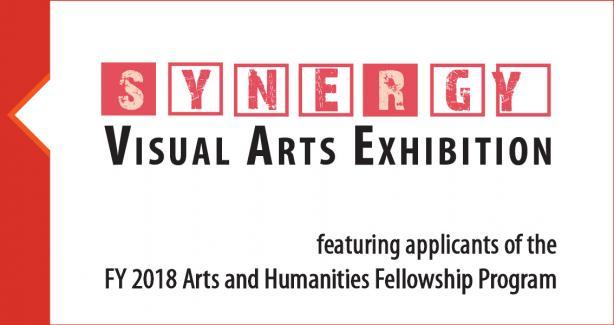Synergy Visual Arts Exhibition Event Logo