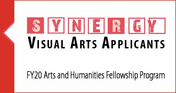 Synergy Exhibition Logo for FY20 Arts and Humanities Fellowship Program