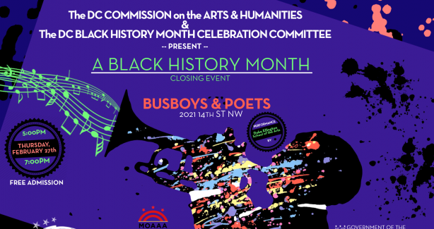 2020 Black History Month Closing Event Image