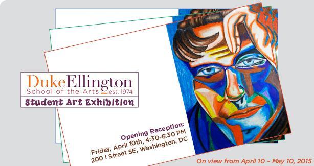 Duke Ellington School of the Arts Student Exhibition