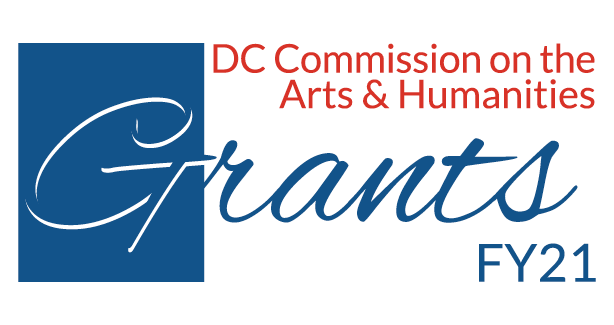 DC Commission on the Arts and Humanities Grants Logo for FY21