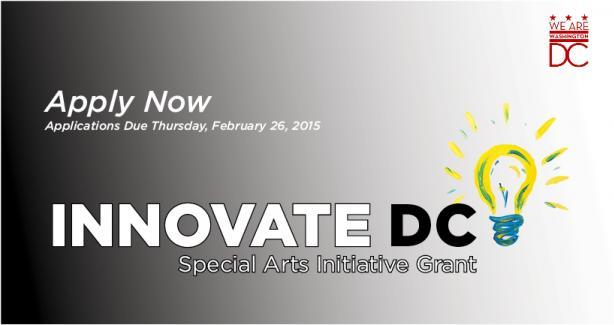 INNOVATE DC – A Fresh Start Special Arts Initiative