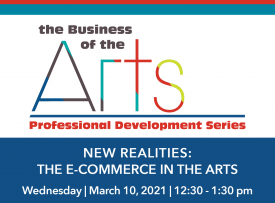 Business of the Arts - The E-commerce in the Arts