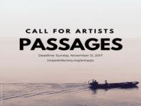 Torpedo Factory Art Center - Passages Call Logo