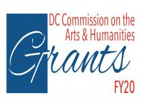 DC Commission on the Arts and Humanities Grants Logo for Fisal Yea 2020