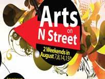 Arts on N Street Festival graphic