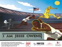 I am Jesse Owens Mural